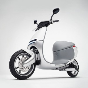 The Gogoro Smartscooter
